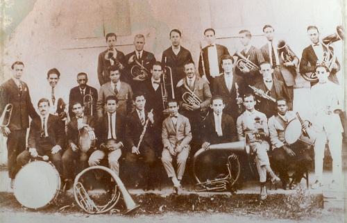 Formação antiga Banda Santa Cecilia